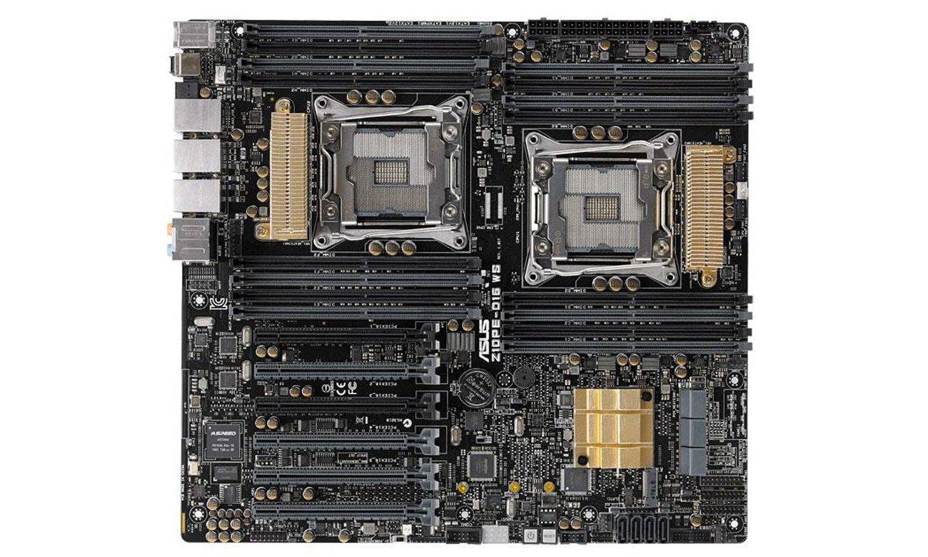 ASUS Z10PE-D16 WS Podkręcanie dwóch CPU dające niesamowitą wydajność