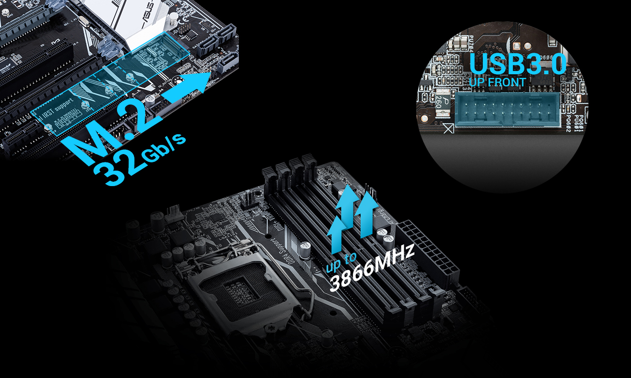 ASUS Z270-P szybki transfer