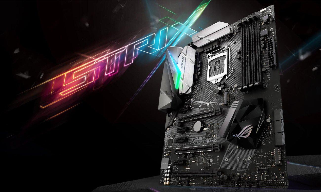 ASUS Z270F GAMING oświetlenie RGB