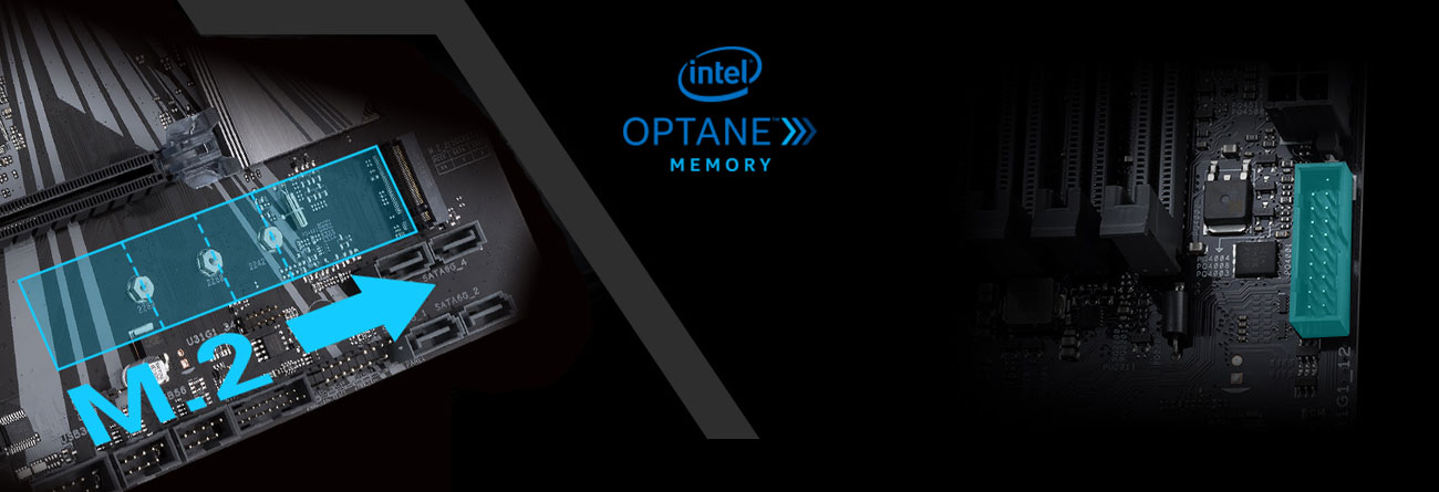 ASUS PRIME Z370-P II Złącze M.2 Intel Optane
