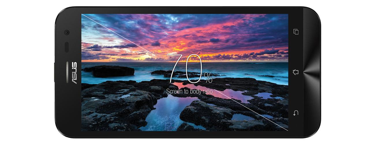 ASUS ZenFone 2 Laser zmniejszone ramki ekranu