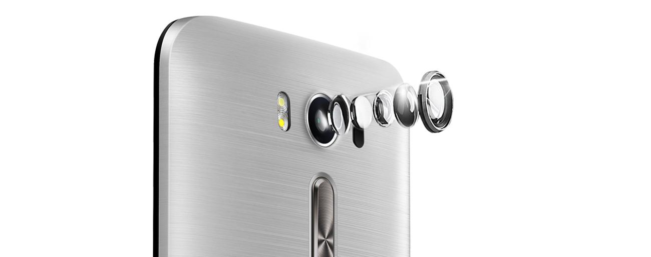 ASUS ZenFone 2 Laser aparta pixelmaster 13 mpix f/2.0