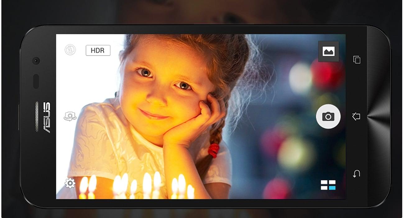 ASUS ZenFone 2 Laser czułość matrycy zwiększona o 400%