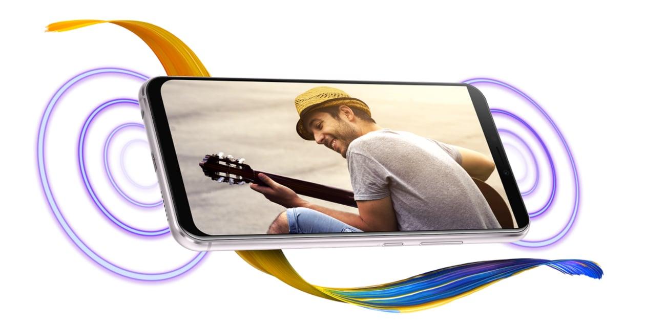 ASUS ZenFone 5z hi-res audio dts nfc czytnik linii papilarnych