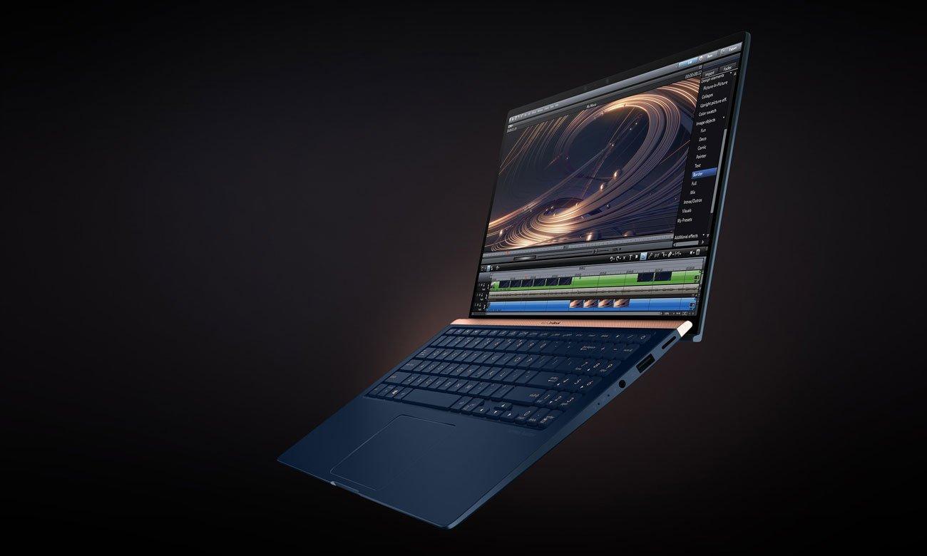 ASUS ZenBook UX533 komfort ergolift zawias