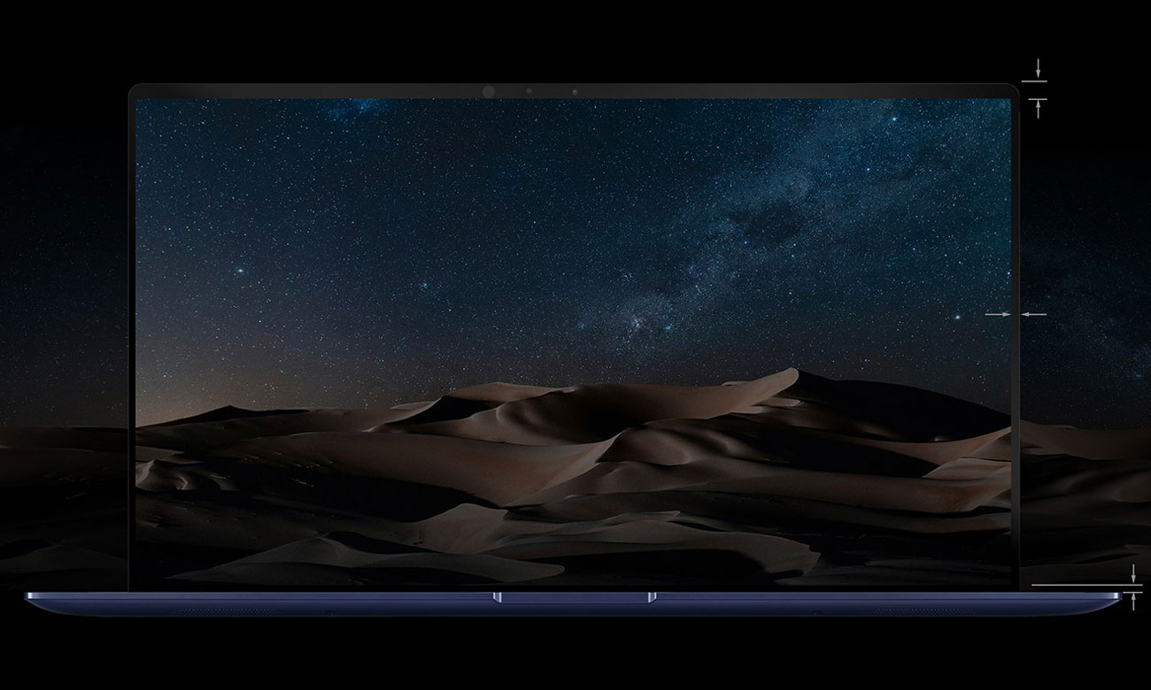 ASUS ZenBook UX533 ekran nanoedge