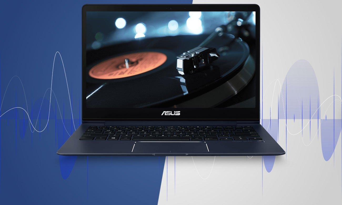 ASUS ZenBook 13 UX331UN system audio z certyfikacją od Harman Kardon