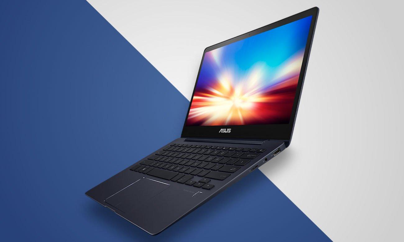 ASUS ZenBook 13 UX331UN Zobacz więcej dzięki grafice NVIDIA GeForce MX150