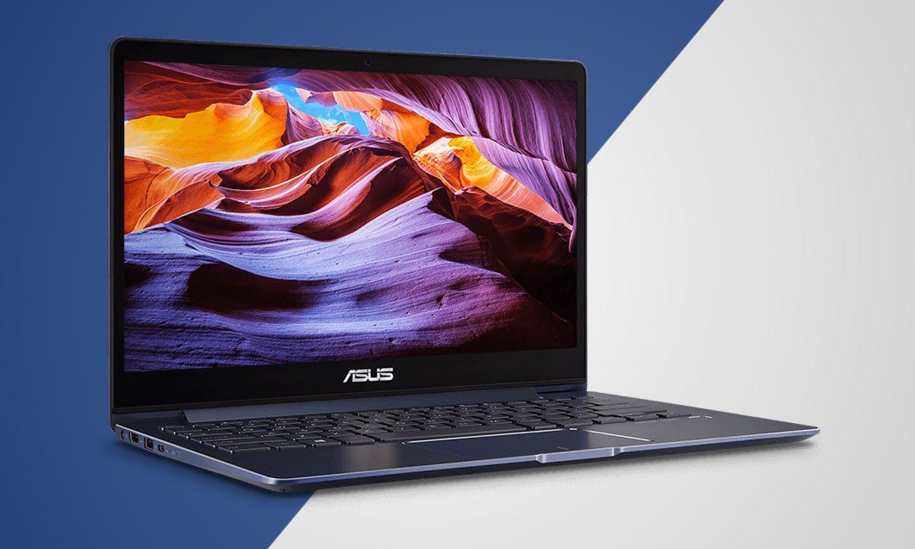 ASUS ZenBook 13 UX331UN Perfekcyjnie zoptymalizowane kolory