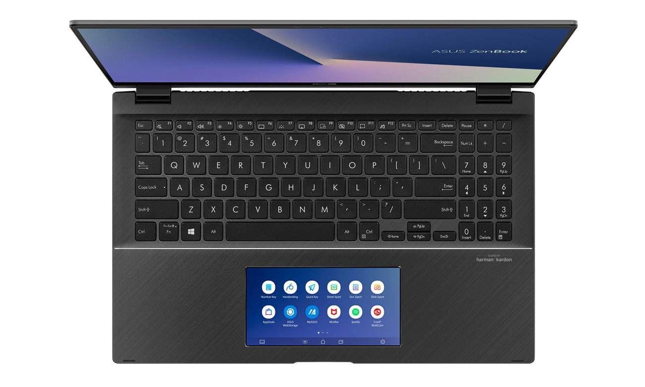 Inteligentny gładzik ScreenPad 2™