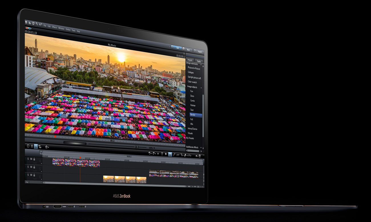 ASUS ZenBook Pro 15 UX550GE Potężna karta graficzna GeForce GTX 1050 Ti