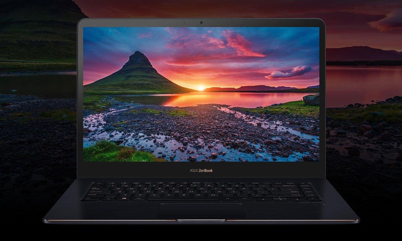 ASUS ZenBook Pro 15 UX550GE Ekran NanoEdge Full HD