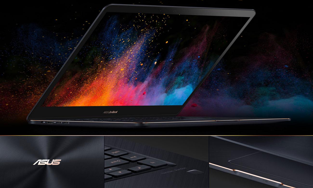 ASUS ZenBook Pro 15 UX550GE Wytrzymała elegancja, ponadczasowy styl