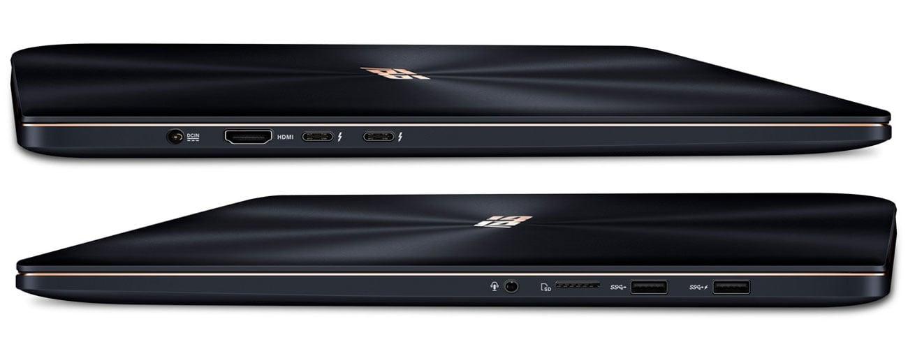 ASUS ZenBook Pro 15 UX550GE Szeroka gama łączności