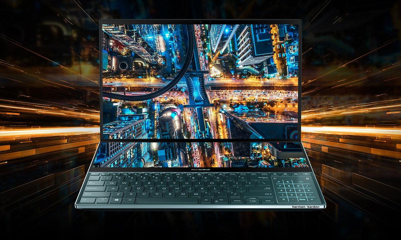 Ноутбук ASUS ZenBook ProDuo UX581LV с графическим дизайном