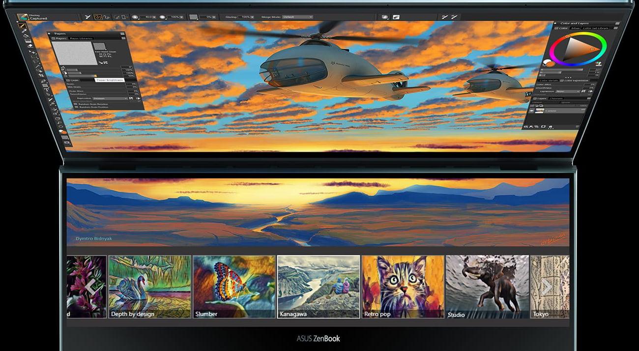 ASUS ScreenPad ™ Plu