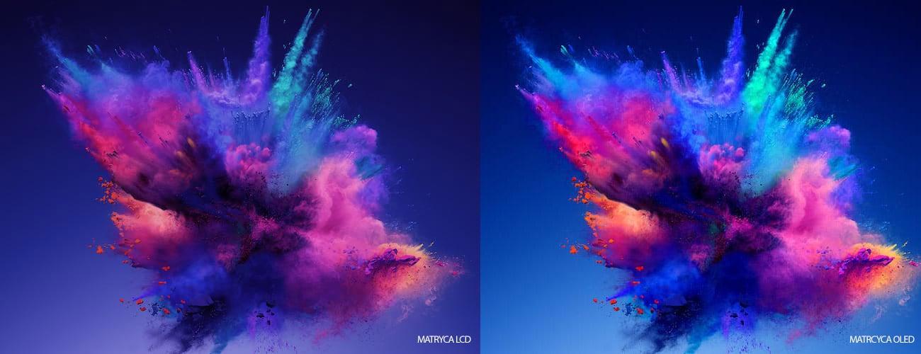 Kolory wyświetlane na ekranie