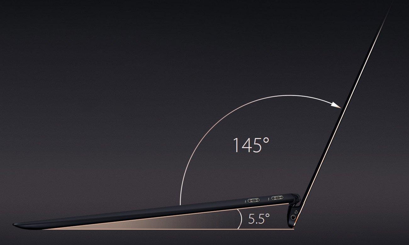 ASUS ZenBook S UX391UA Wygodne pisanie, wydajne chłodzenie, lepszy dźwięk