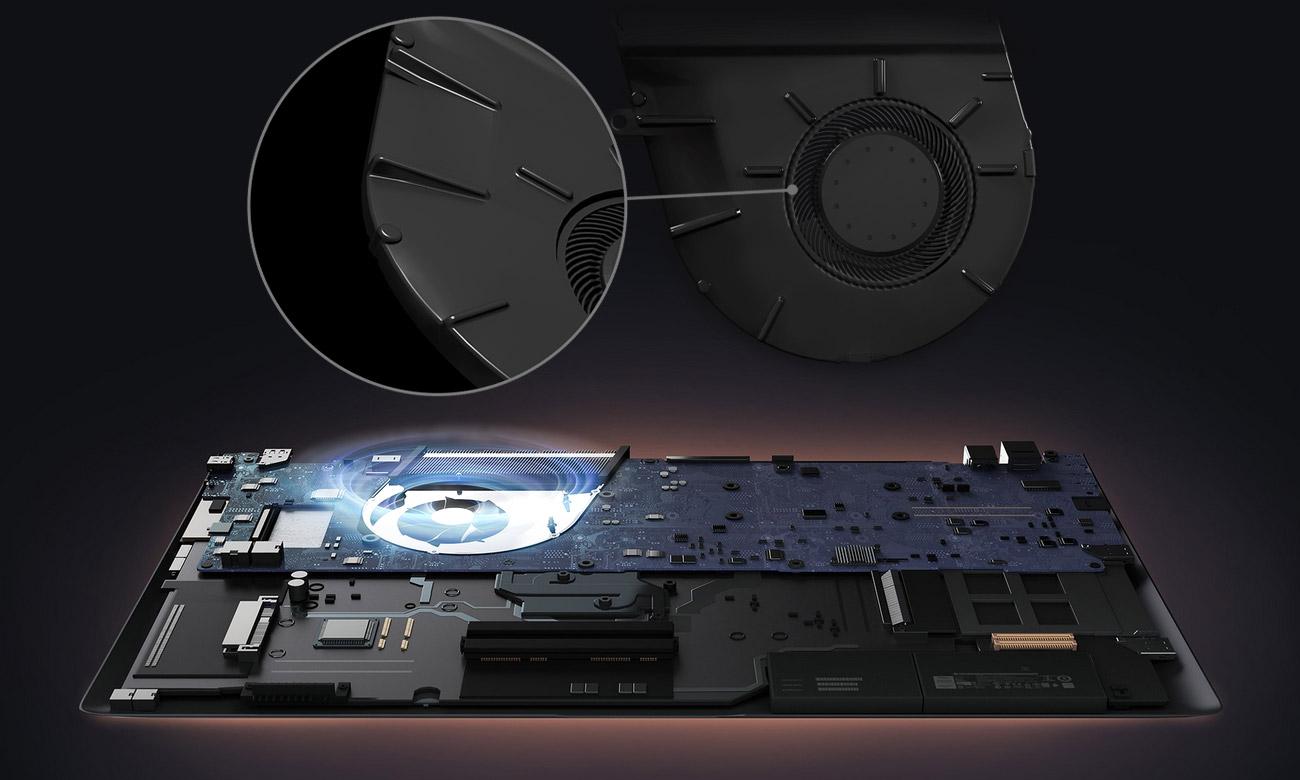 ASUS ZenBook S UX391UA Rewolucyjny system chłodzenia