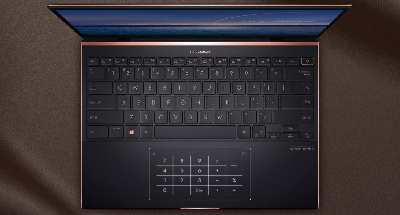 Клавиатура, цифровая клавиатура, ИК-камера
