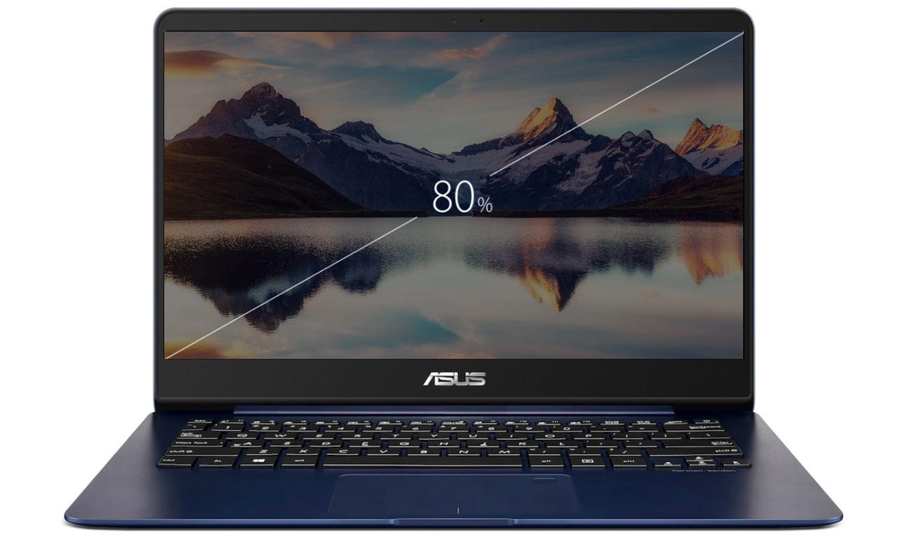 ASUS ZenBook UX430UA matowa powłoka antyodblaskowa 14 calowy wyświetlacz full hd