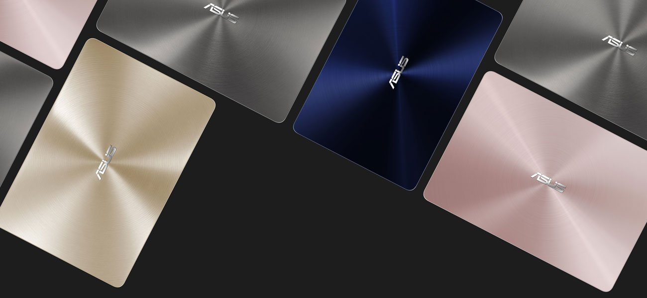 ASUS ZenBook UX430UA elegancja precyzyjne wykonanie błyszcząca powłoka