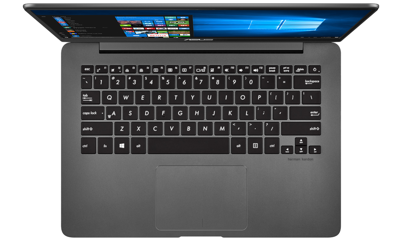 ASUS ZenBook UX430UN podświetlana klawiatura
