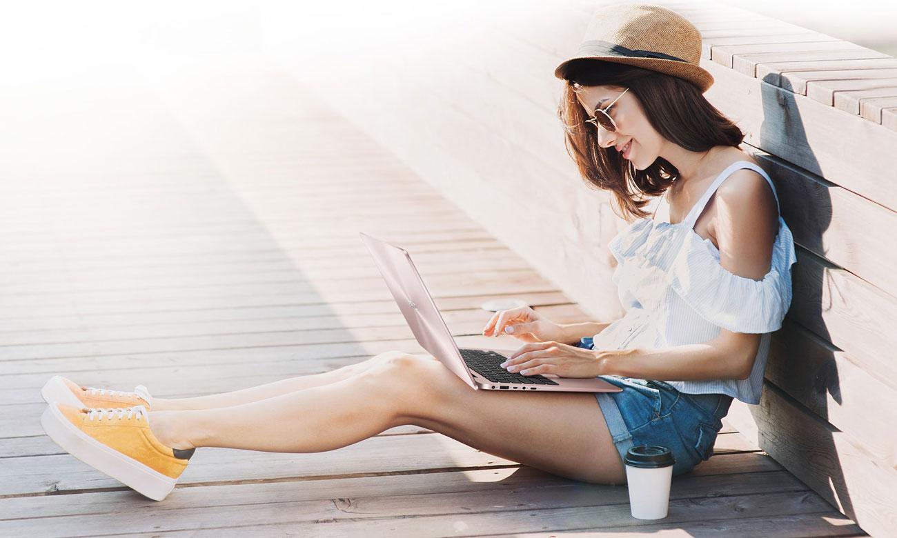 ASUS ZenBook UX430UN Niezwykle wydajna łączność ze światem