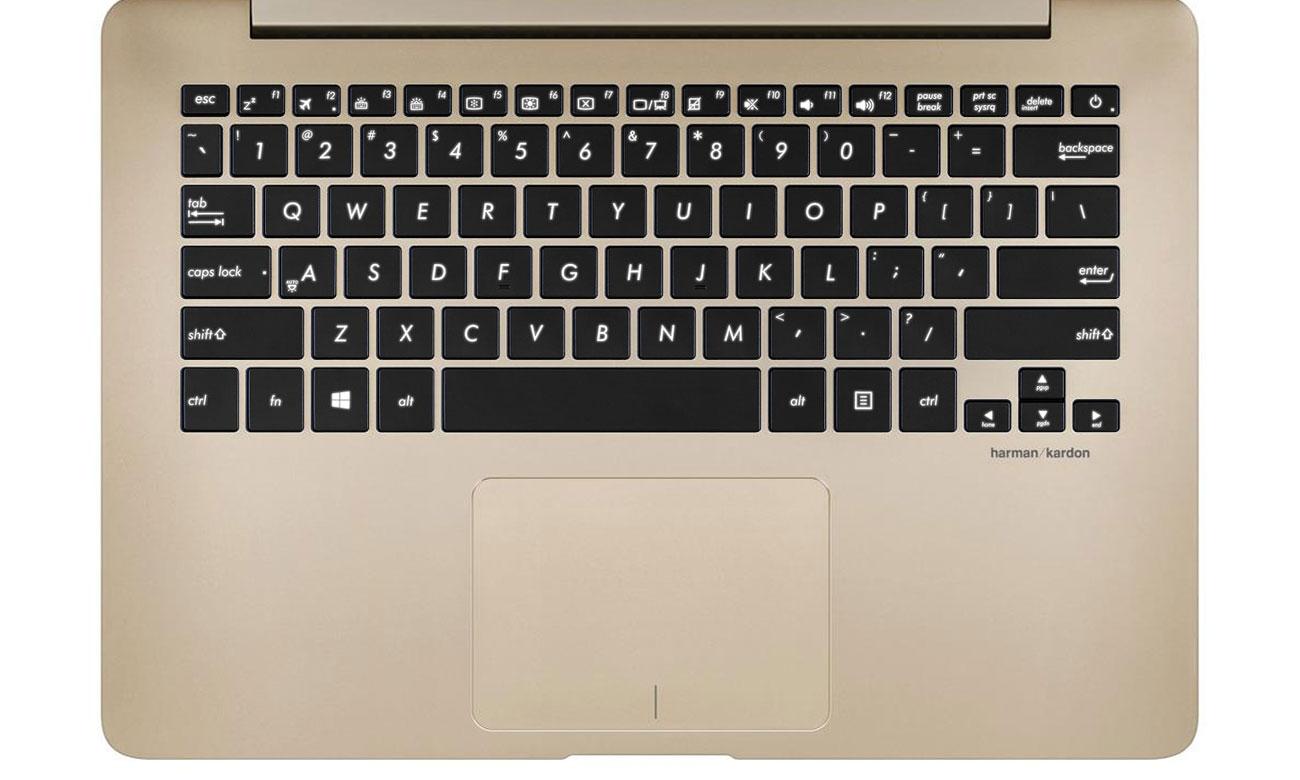 ASUS ZenBook UX430UA wydajność pełnowymiarowa podświetlana klawiatura