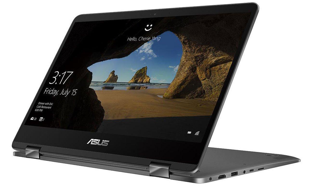 ASUS ZenBook Flip 14 UX461UA Bateria umożliwiająca pracę przez cały dzień