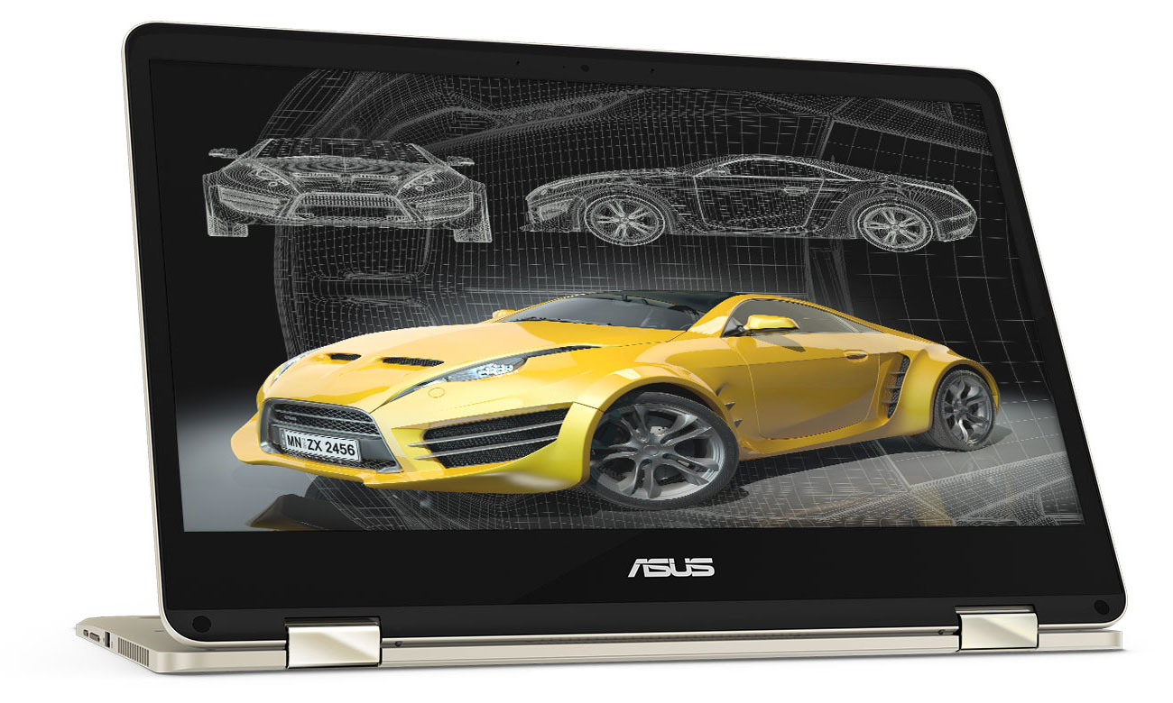 ASUS ZenBook Flip 14 UX461UN Perfekcyjny obraz z NVIDIA GeForce MX150