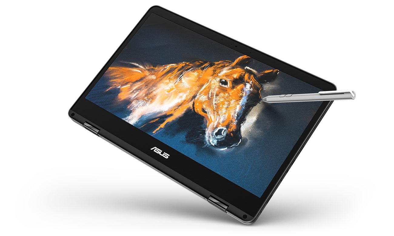 ASUS ZenBook Flip 14 UX461UN Dotyk perfekcji, obsługa pióra ASUS Pen