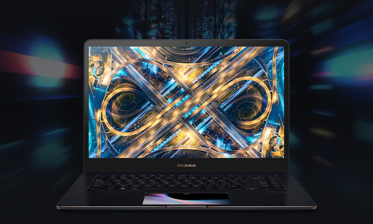 ASUS ZenBook Pro 15 UX580GE Dotykowy NanoEdge Full HD z ultrasmukłą ramką