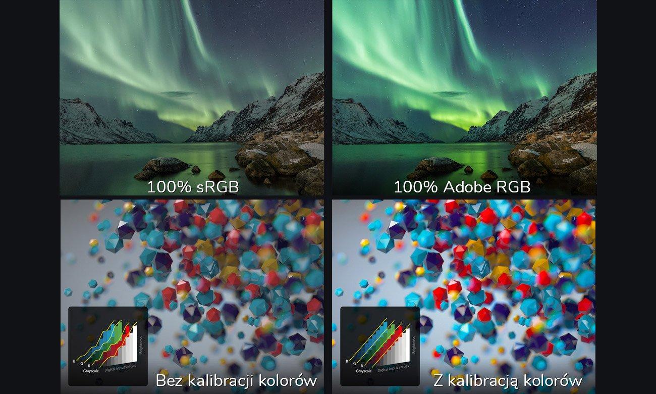 ASUS ZenBook Pro 15 UX580GE Delta E < 2 - większa precyzja wyświetlania barw