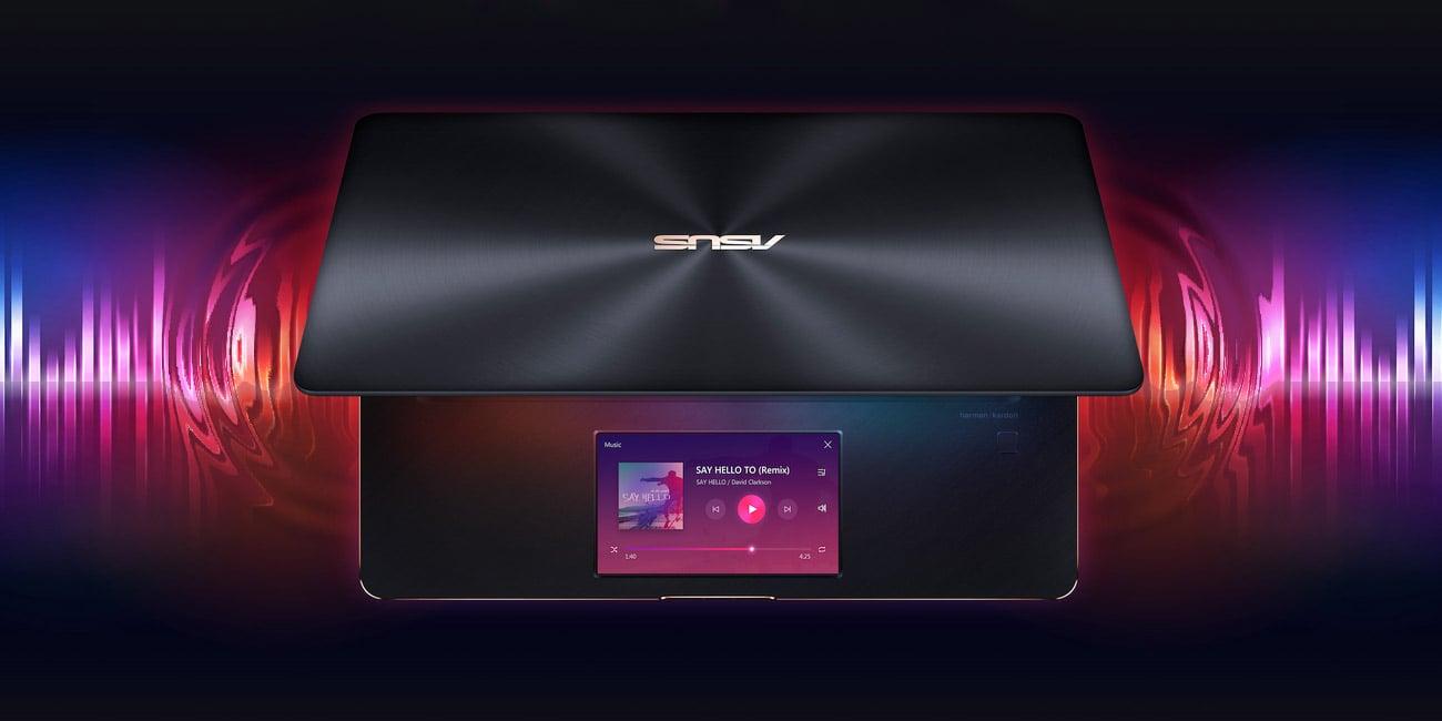 ASUS ZenBook Pro 15 UX580GE Niesamowity dźwięk od Harman Kardon
