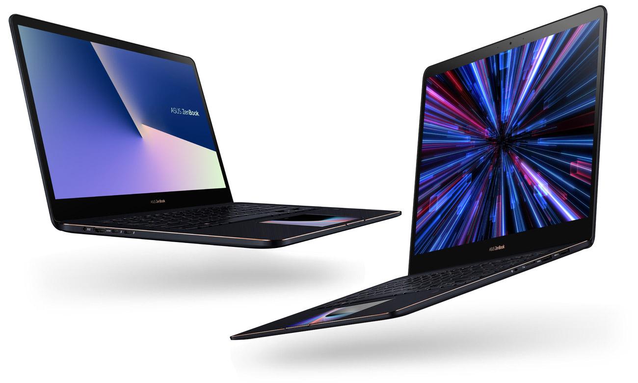 ASUS ZenBook Pro 15 UX580GE Bogate możliwości połączeń Gigabitowa karta Wi-Fi