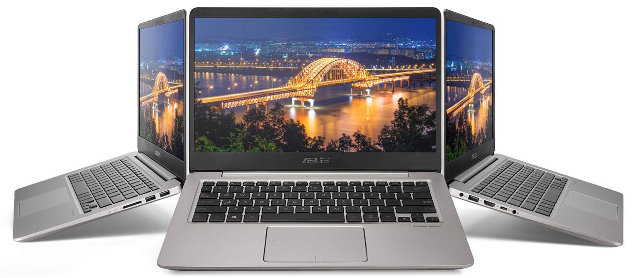 Laptop ASUS ZenBook UX410UA realistyczne barwy szeroki kąt widzenia