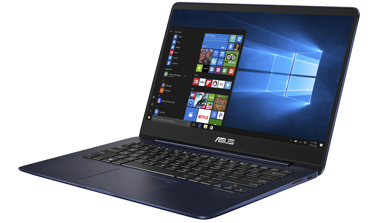 Laptop ASUS ZenBook UX430UA karta graficzna Intel UHD Graphics