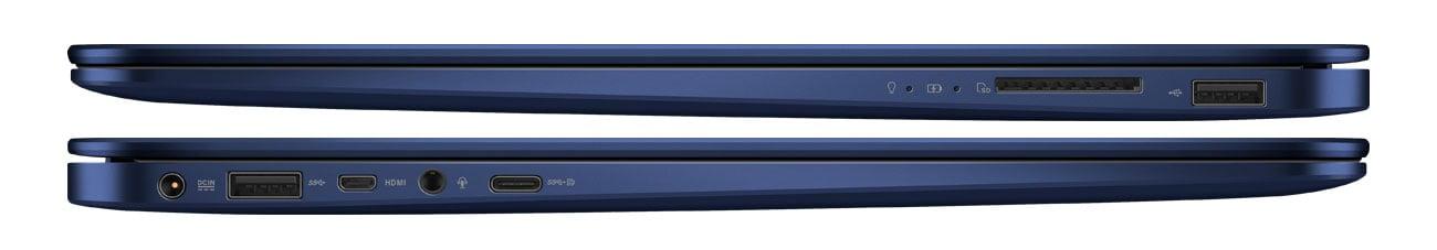 Laptop ASUS ZenBook UX430UQ porty
