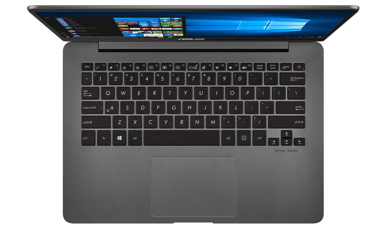 Laptop ASUS ZenBook UX430UQ wydajnośc pełnowymiarowa podświetlana klawiatura