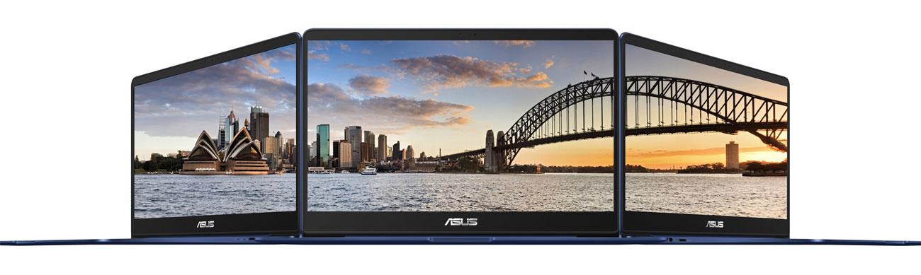 Laptop ASUS ZenBook UX430UQ przeciwodblaskowy srgb technologia szerokokątna