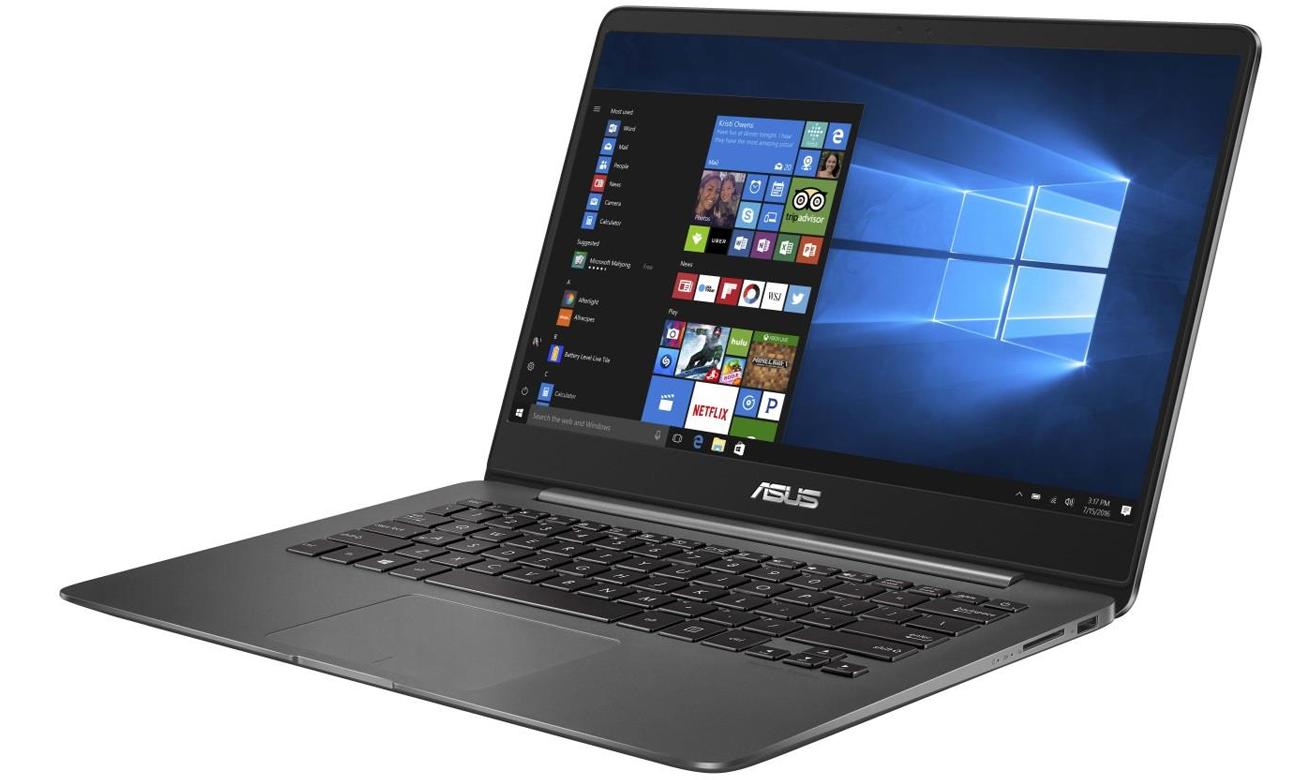 Laptop ASUS ZenBook UX430UQ karta graficzna