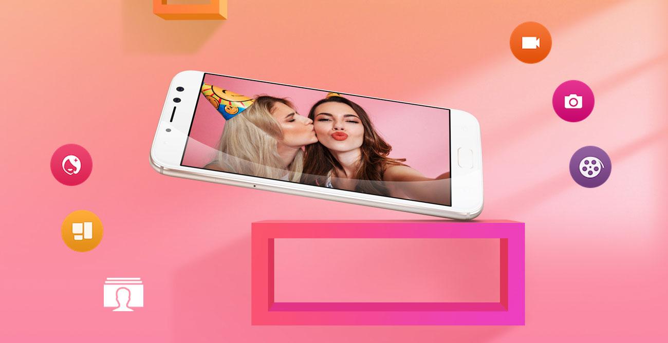 ASUS Zenfone 4 Selfie Pro upiekszenie bokeh efekty
