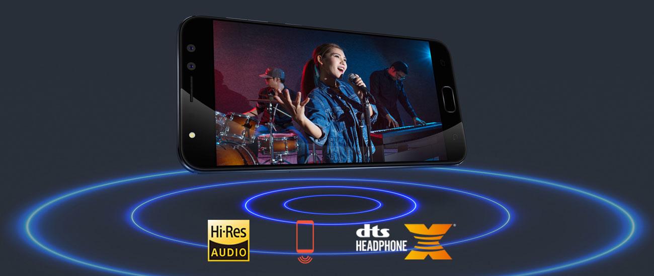 ASUS Zenfone 4 Selfie Pro sonicmaster4.0