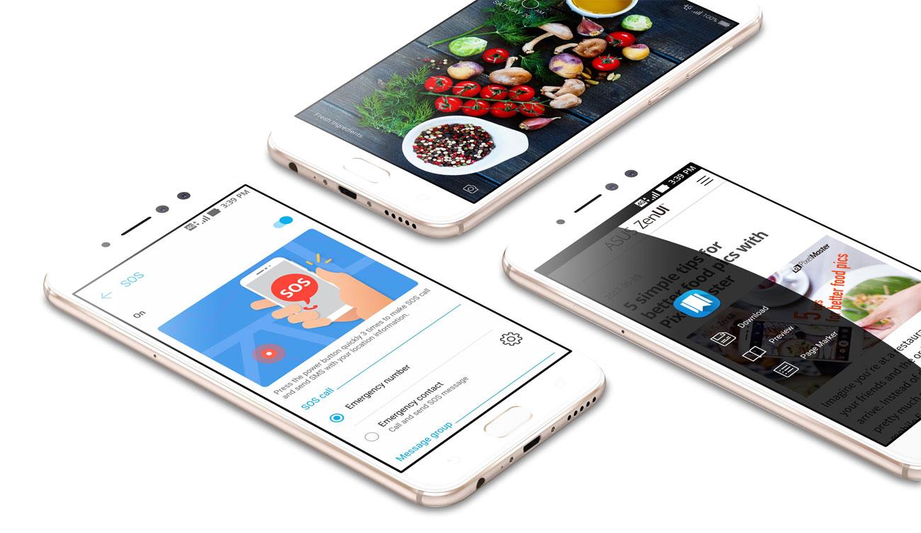 ASUS Zenfone 4 Selfie Pro zenui 4.0