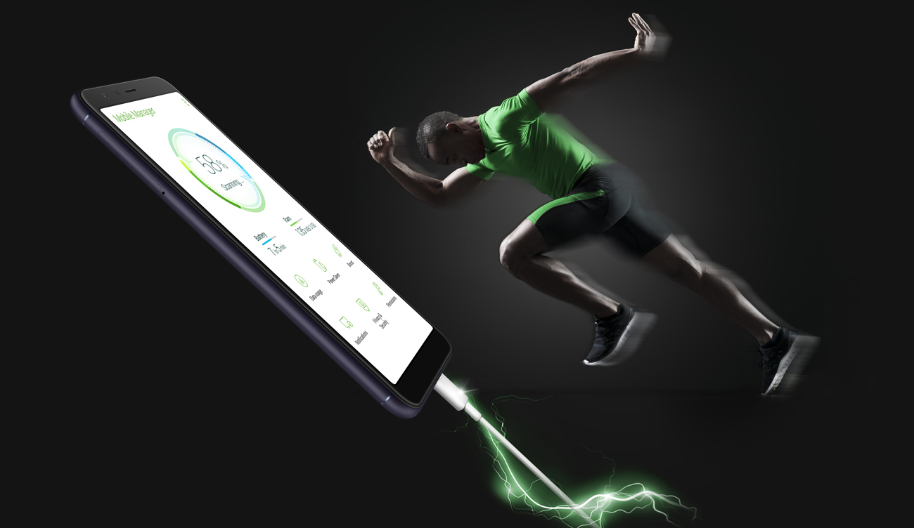 ASUS Zenfone Max Plus inteligentna bateria powermaster