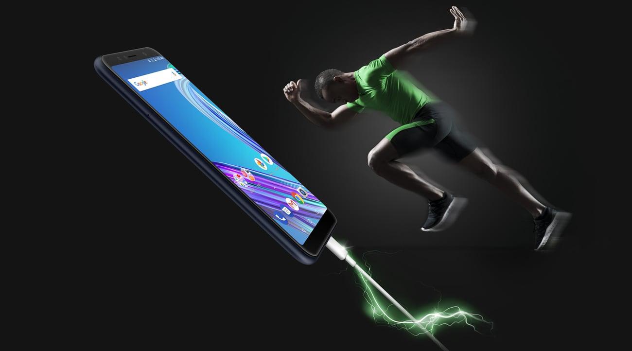 ZenFone Max Pro ZB602KL bateria 5000 mAh