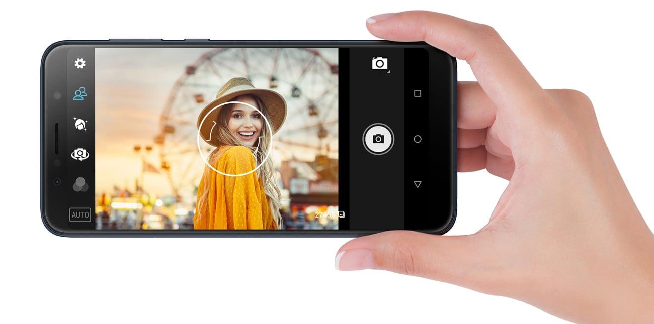 ZenFone Max Pro ZB602KL aparat 13+5 mpix bokeh