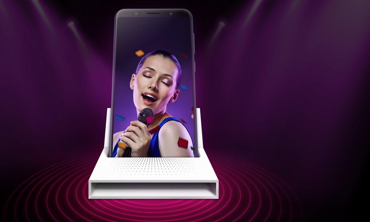 ZenFone Max Pro ZB602KL głosnik z wzmacniaczem nXP