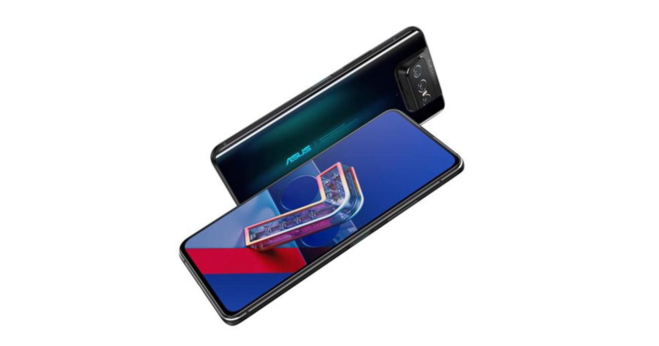 ASUS ZenFone 7 128 GB Black aparat